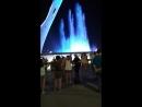 Поющие фонтаны в Олимпийском парке в Адлере