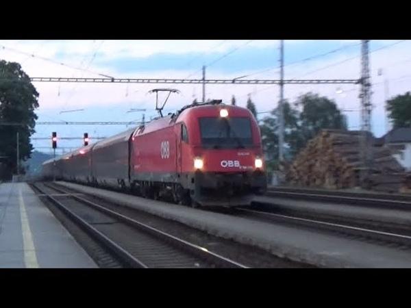 Večerní vlaky Rájec-Jestřebí 25.5.2018