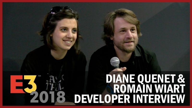 Diane Quenet Romain Wiart from Cyanide Studio Share Insights on Being Indie USC at E3 2018