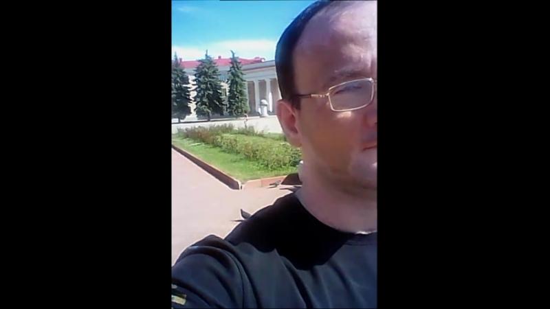 Vlog001 Новокуйбышевск фонтан и площадь Ленина