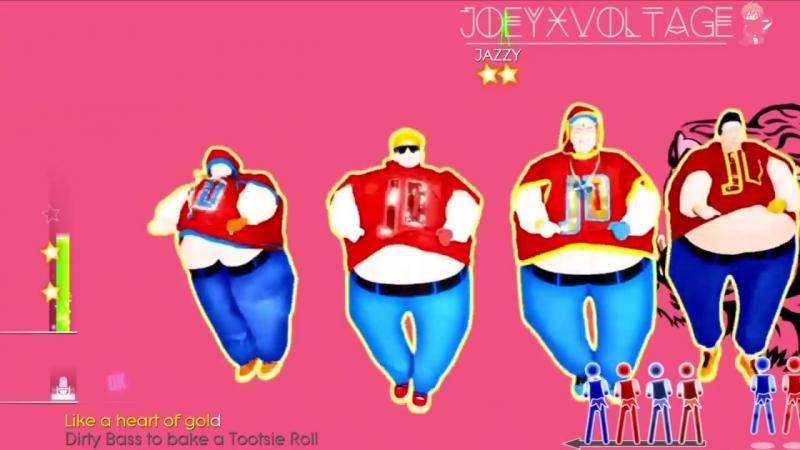 танец 10-11 классов Just Dance 2014! Turn Up The Love(Sumo Version) 5 Stars