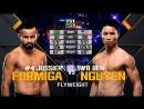 UFC 221 Jussier Formiga vs Ben Nguyen