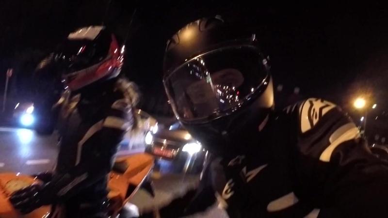 Наши дорожные приключения🖤🧡 Лето без пробок 😊✌🏾 sportswear MrandMrsSmith onelove motivation lifestyle moto spiderman mar