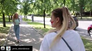 """ГАЛАМАРТ on Instagram: """"Галамарт помогает в покупках всем: как нашим извстным блоггерам (@jenia_iskandarova), так и их новым иностранным друзьям 😄 ⚽️"""""""
