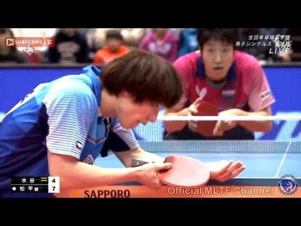 (MS-SF) Jun Mizutani Vs Kenta Matsudaira - 2018 All Japan Championships - Full Match/HD720p60f