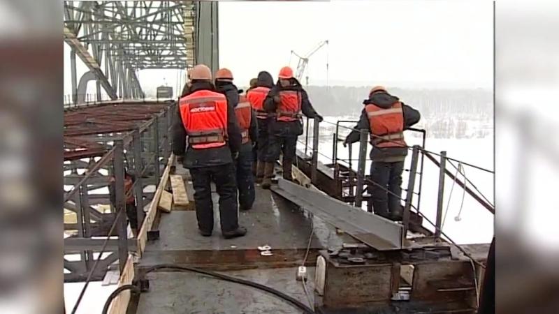 2004 год. Самсоновский мост в Таре (Омская область). Олег Шишов, НПО Мостовик
