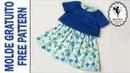 МК шьем юбку и блузу для девочки р. 3 года - 7 лет