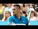 Nick Kyrgios vs Feliciano Lopez highlights QUEEN'S 2018 QF
