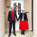 Эта пара, женатая уже 37 лет, всегда одевается в подходящие наряды.