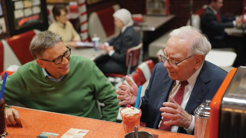 Sweet Nostalgia with Warren Buffett and Bill Gates