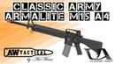 Страйкбольный автомат CLASSIC ARMY ARMALITE M15 A4 CA 003P 1