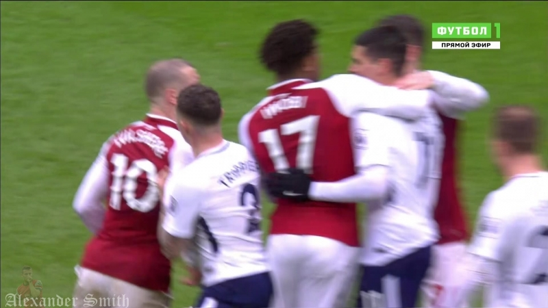 Jack Wilshere07 vs Everton and Tottenham 2018