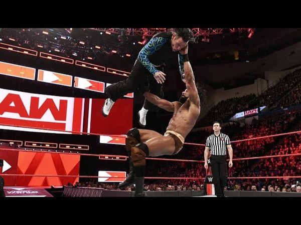 Jeff Hardy vs. Jinder Mahal (c) Match for the U.S Championship (FULL MATCH) WWE RAW 16-04-18