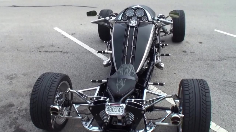 Brimstone Quadracycle on My Car Story with Lou Costabile