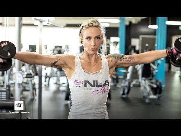 Shoulder-Transformer Workout | Amy Updike IFBB Bikini Pro
