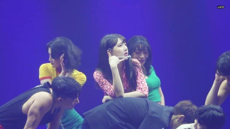 180107 Yerin (GFriend) - U GO GIRL @ 1st Concert Season of GFriend