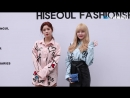 CLIP/NEWS 20.03.17 Sojin, Keumjo @ Seoul Fashion Week `MAN.G` Collection