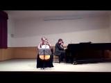 Клод Дебюсси. Соната для виолончели и фортепиано ре минор.