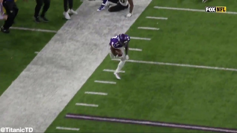 CASE KEENUM'S 61 YARD TOUCHDOWN PASS TO STEFON DIGGS FOR THE WIN!