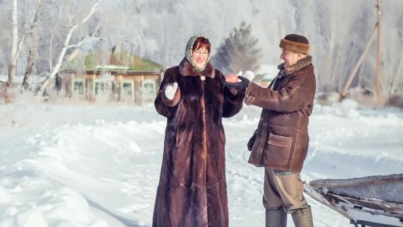 Зимняя прогулка в деревне