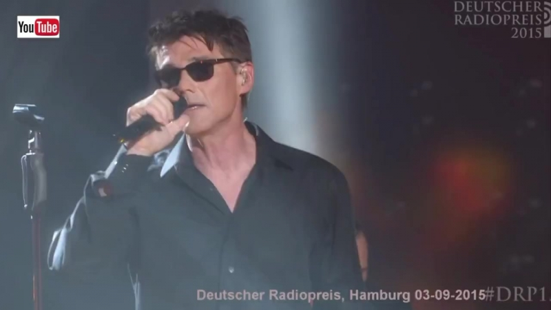 A-ha live - Forest Fire (HD), Deutscher Radiopreis, Hamburg 03-09-2015