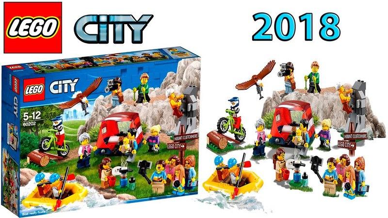 Lego City 60202 People Pack Outdoor Adventures 2018 Summer Set