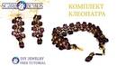 💛 Бисероплетение | Комплект Клеопатра из бусин Kheops par Puca и RounDuo