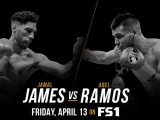 Джамал Джеймс - Абель Рамос Jamal James vs Abel Ramos 13.04.2018