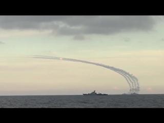 Пуски крылатых ракет
