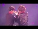 Jimin and Jungkook during GoGo