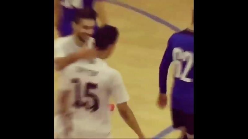 Супер гол в исполнении игрока Кайрата иранца Хоссейна Тайеби