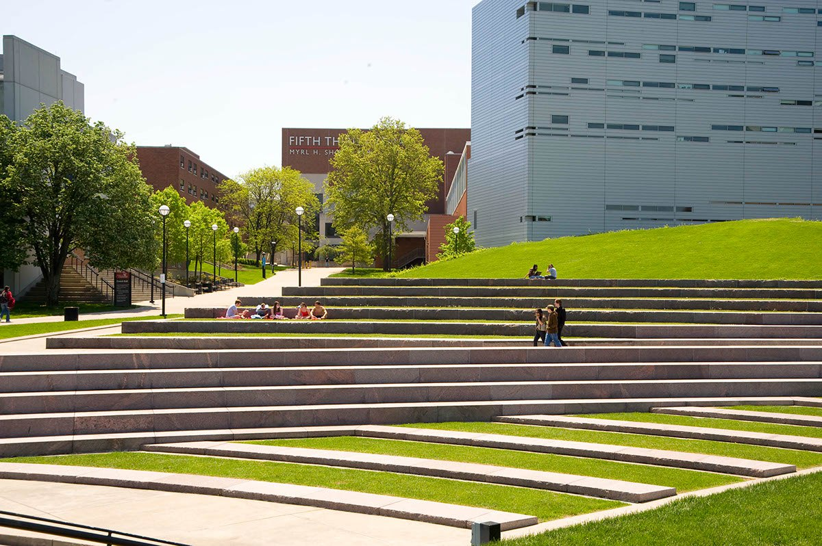 University of Cincinnati Ohio, Campus Green