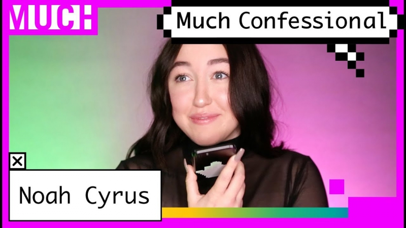 Noah Cyrus Calls BFF on FaceTime in the Much Confessional
