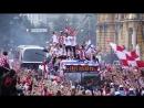 Возвращение героев хорватского футбола