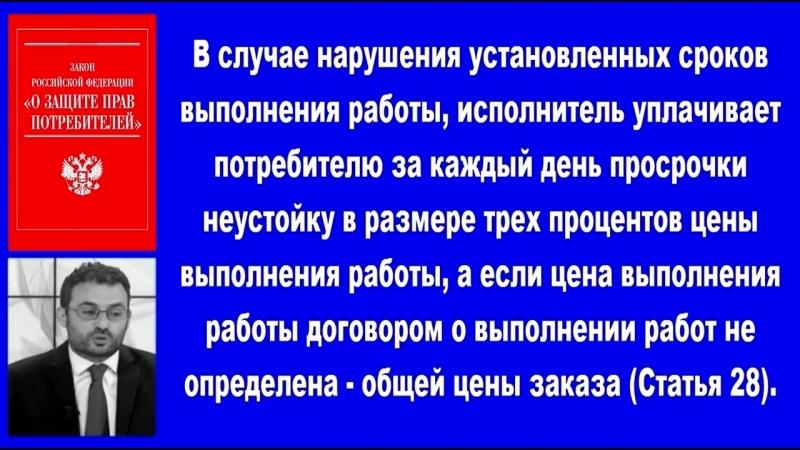 4 Видеоконсультация 3 по защите прав потребителей. Бесплатная консультация юриста в Санкт-Петербурге.