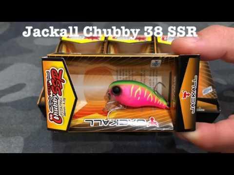 воблер jackall chubby 38 SSR