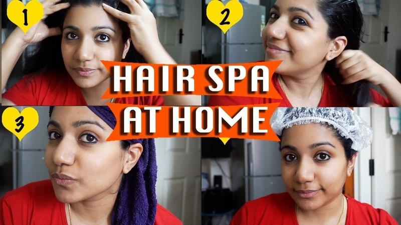 Hair spa at home in malayalam   hot towel treatment for hair at home  ഹെയർ സ്പാ വീട്ടിൽ ചെയാം
