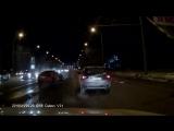 ДТП со спорткаром в Самаре попало в объектив видеорегистратора