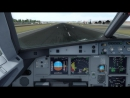 Visual Approach and landing at MGGT Private Jet Airbus a319 MRBUS