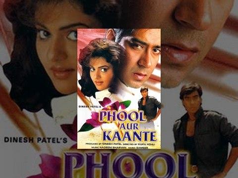 Phool Aur Kaante | Full Movie | Ajay Devgn, Madhoo | HD 1080p