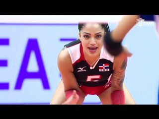 Brenda Castillo Amazing Volleyball Libero. TOP MOMENTS. World Grand Prix 2017.