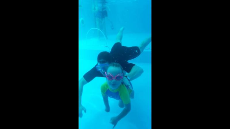Подводное плавание 🏊♀️ Диана 5 лет, дцп спастическая диплегия
