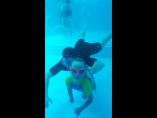 Подводное плавание ?♀️ Диана 5 лет, дцп спастическая диплегия