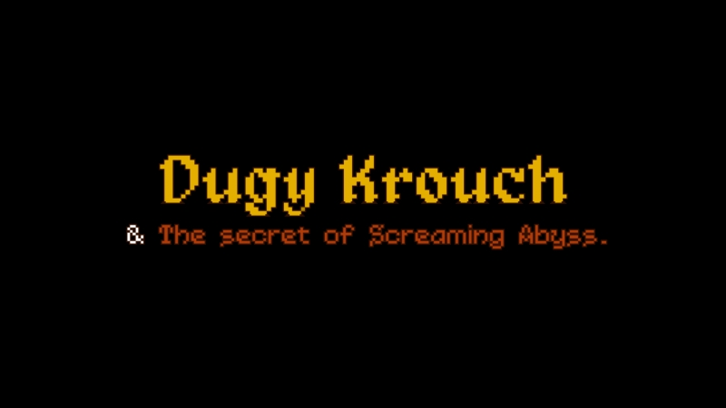 Dugy Krouch The Secret of Screaming Abyss. Меню быстрого доступа и модификатор оружия.