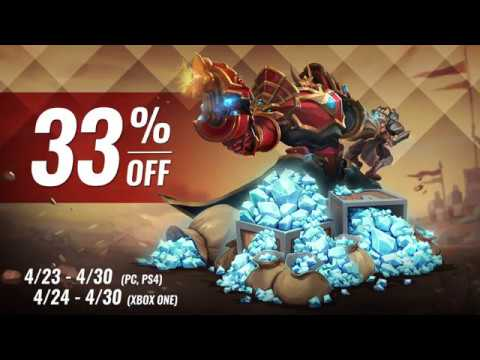 Paladins - Save 33% on Crystals (Now through April 30, 2018)