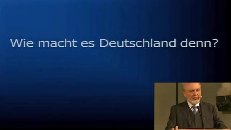Energiewende politisch geistesgestört- Hans Werner Sinn 18-12-2017