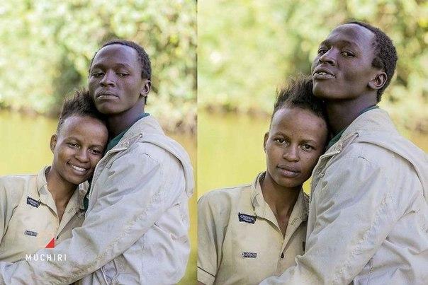Кенийский фотограф Muchiri Frames заметил на улице двух влюбленных бездомных и снял их в классической лав-стори. Ребята превратились в настоящих фото-моделей
