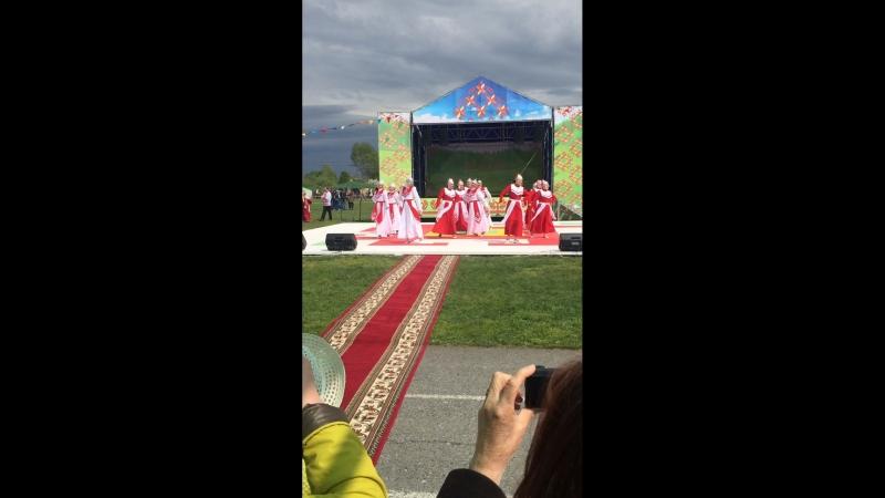 Праздник чувашских национальности фАкатуйс Ярково