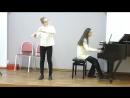 Гендель Соната для флейты с клавесином ля минор 1 часть. Румянцева Екатерина