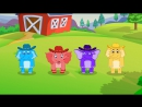 Elephants Have Wrinkles by RocknRainbow Music for Kids by Howdytoons